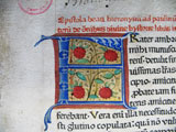 Lettrine incunable 1482